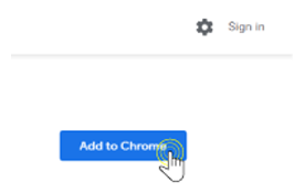 Step 2: Press Add to Chrome